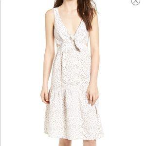 NEW McGuire Women's Palizzi Cutout Tie Front Dress